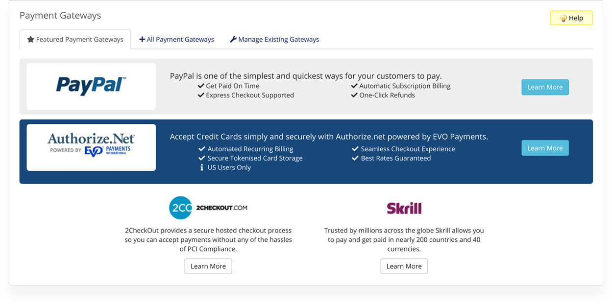Free Merchant Account  2Checkout PayPal Authorize net & More!